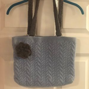 Up-cycled Wool Sweater Purse